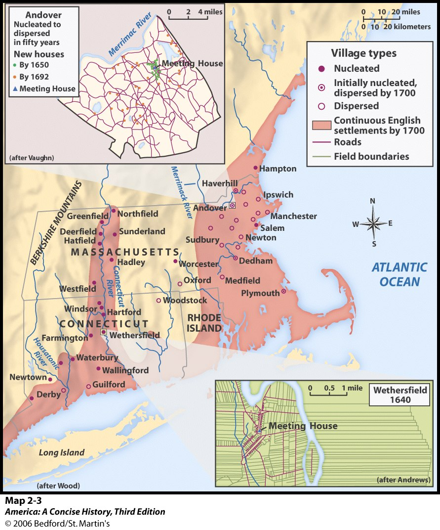 the history of the puritans in new england New england colonies in 1677  massachusetts bay colony plus the areas of  new hampshire, maine, martha's vineyard, and nantucket  massachusetts  puritans historical maps new england plymouth colony new hampshire  pilgrims.