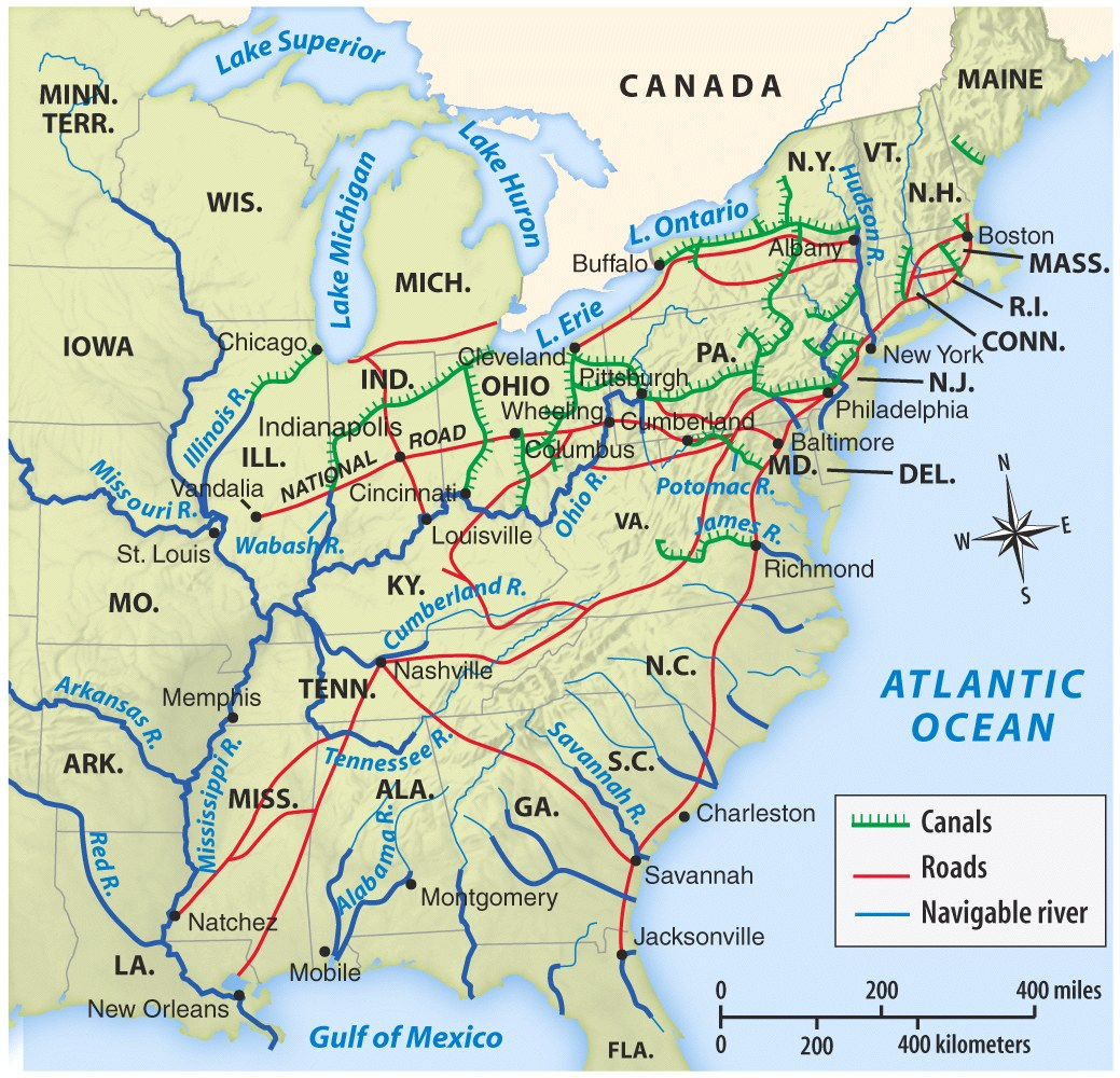 Map Us Railroads 1870 Maps Of USA Great For Teaching The